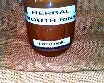 Herbal Mouth Rinse