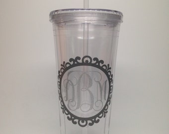 Personalized Acrylic Tumbler- 20 oz.