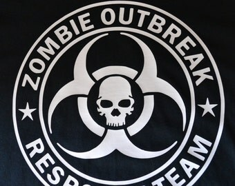 Zombie Outbreak Response Team Tshirt