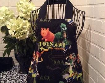 Toy story boys apron