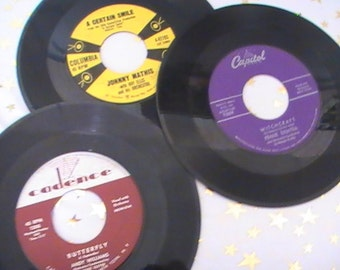 "Thirty Eight ""Crooners and Balladeers"" 45 RPM Records From the 50's and 60's"