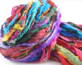 Tibet Jewels Sari Silk Ribbon