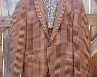 1970's Colburns Brown Blazer
