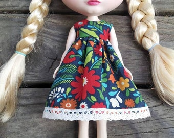 Summer Flower Blythe Dress