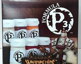 Privateer Press Protectorate of Menoth Color Paint Set P3 PIP 93002 (6) Acrylic
