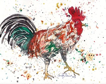 PRINTS Rooster