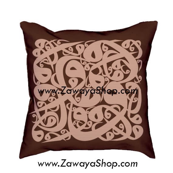decorative pillows Brown neutral colors orientalist home decor