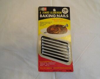 Wecolite 6 Jumbo Aluminum Baking Nails Unopened and Unused
