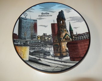 WEST GERMANY BAVARIA Seltmann Weiden Plate Wall Hanging