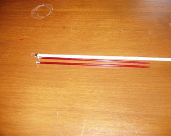 Knitting Needles Size 6 metal
