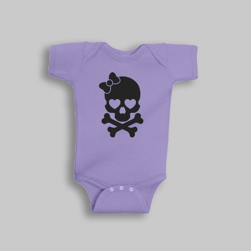 Cute baby girl clothes skull baby romper baby girl romper