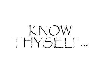 Know Thyself Print