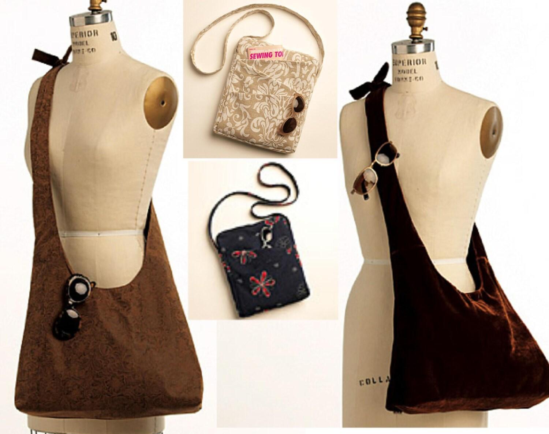 Crossbody Bag See Amp Sew B5273 Uncut Shoulder Bag Pattern
