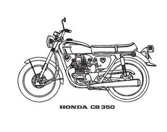 Honda CB 350 T-shirt