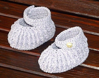 Baby Booties 6-12 Month Mary Jane