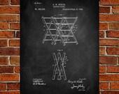 1892 Clothes drier Art Print,  Patent, Clothes drier Vintage Art,  Blueprint,  Poster, PatentPrints, Wall Art, Decor [Vi23A]