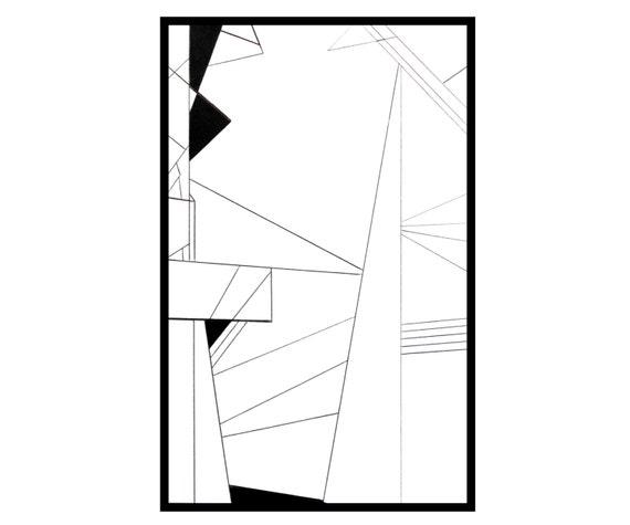 Articles similaires g om trique dessin abstrait stylo et for Oeuvre minimaliste