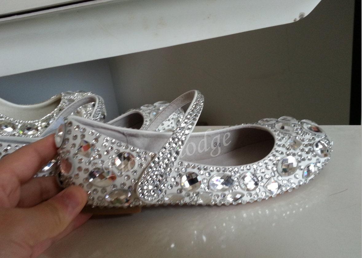 44248a07f98 Silver bridal flower girl shoes rhinestone silver crystal mary jpg 1178x841  Silver crystal shoes
