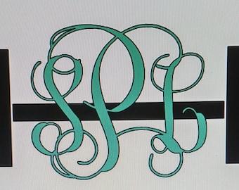 Barbell Monogram