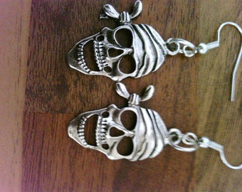Gothic Style pirate earrings