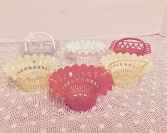 Vintage Nut and Candy Party Cups  6