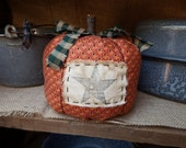 Primitive Fabric Pumpkin, Stuffed Pumpkin, FAAP, TeamHAHA