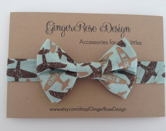Airplane Bow Tie; Jet Bow Tie; Plane Bow Tie; Boy Bow Tie; Toddler Bow Tie; Baby Bow Tie; Adjustable Bow Tie