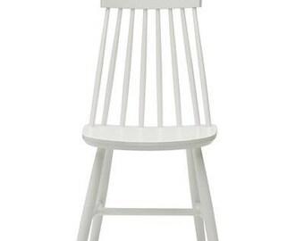 Wooden chair, Scandinavian design, oak