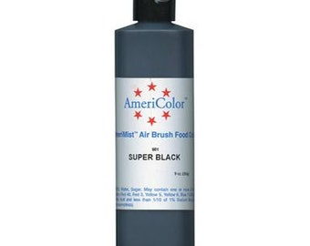 Super Black - Amerimist Airbrush - 9 oz *FREE SHIPPING*