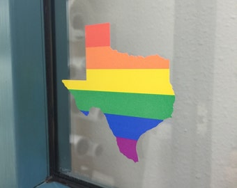 Texas Equality Decal
