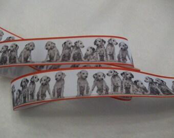 """Dalmation Puppy Dog Breed Grosgrain Ribbon 1"""""""
