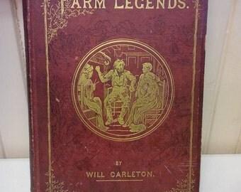 Farm Legends by Will Carleton