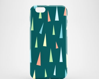 Pastel triangles phone case / pastel iPhone 7 case / funky phone case / available for iPhone and Samsung Galaxy S models