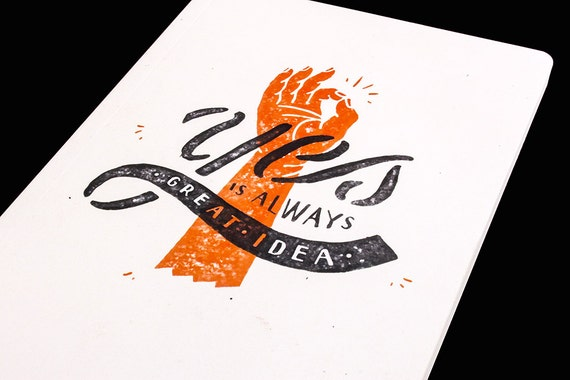 Yes is always a great idea - Motivational Notebooks and Journals that will inspire you // The PumpUp Blog