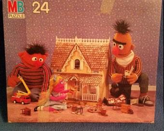 1985 Complete Sesame Street Puzzle