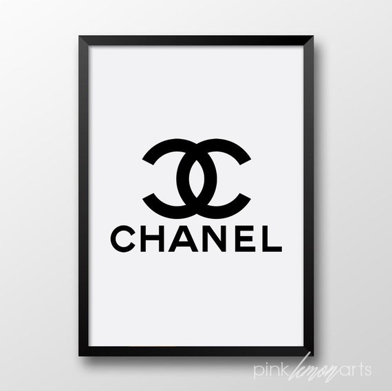 Remarkable image with printable chanel logo