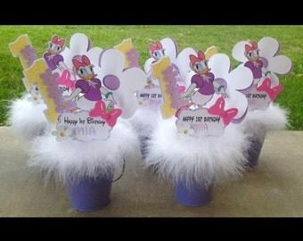 Daisy Duck Centerpieces