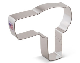 Ann Clark Hair Dryer Cookie Cutter - Made in the USA-7760A