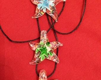 Murano Lampwork Glass Necklace