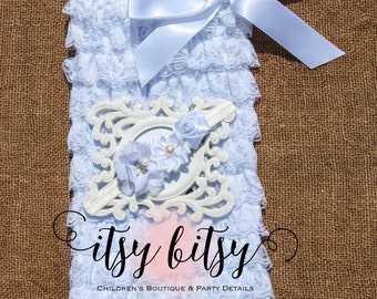 Baby Girl, Petti Romper, Lace Romper, Ruffle Romper, Lace Flower Girl Dress, Baptism Outfit, Baptism Dress, Christening Outfit, Bautismo