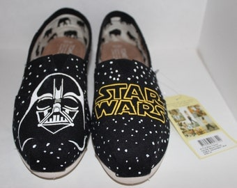 Custom Hand-Painted Star Wars TOMS