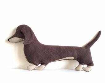 Sausage dog shaped cushion ( Free shipping within the UK)