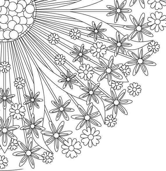 Mandala Coloring Pages A4 Coloring Pages