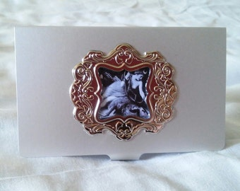 The Lady card holder/cigarette case
