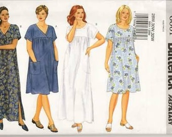 Womens Petitable Dress New Easy Sewing Pattern Butterick 6601 Size 16/20