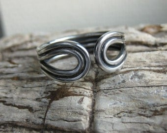 Replica authentic viking ring silver handmade