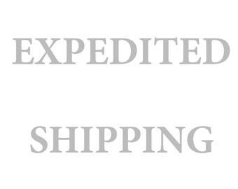 Expedited shipping in the US