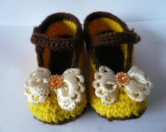 Crochet Babys shoes