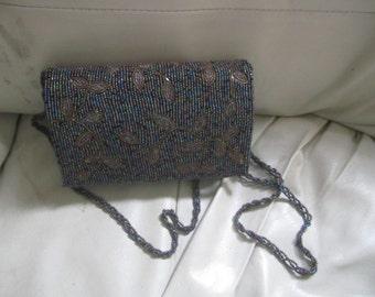Beautiful Handbeaded Handbag/Clutch