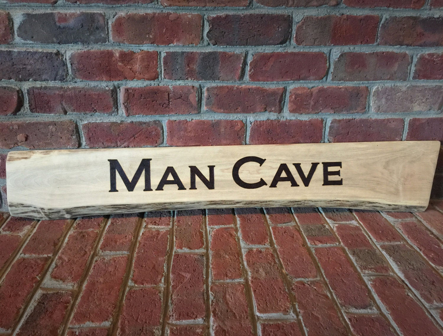 Man Cave Signs Wooden : Man cave wood sign